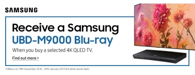 QLED Bluray promotion